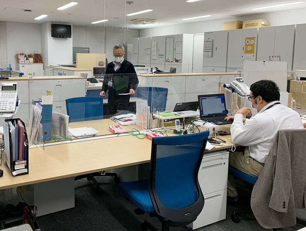総務部オフィス